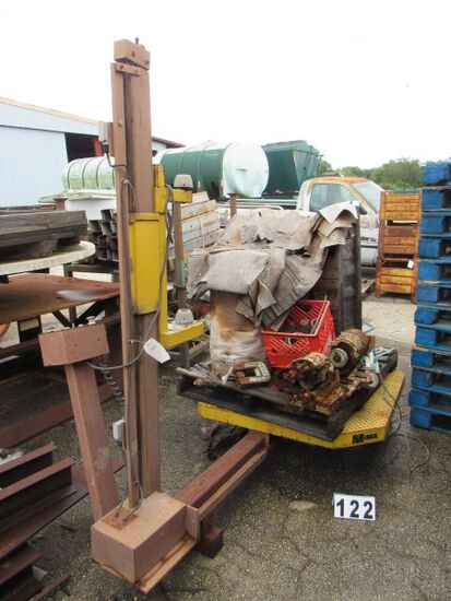 shrink wrap machine (all there but needs service)