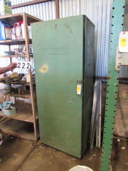 "steel storage cabinet 29""w x 24"" d x 76"" h\"