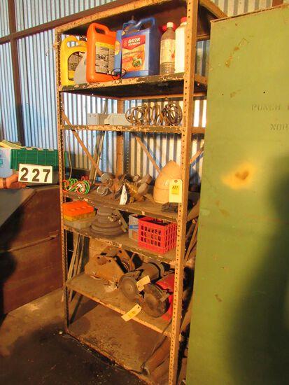 """steel stock room shelf unit 36""""w x 26""""d x 82"""" h"""