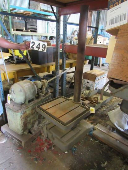 """drill press stand and table 4"""" column"""