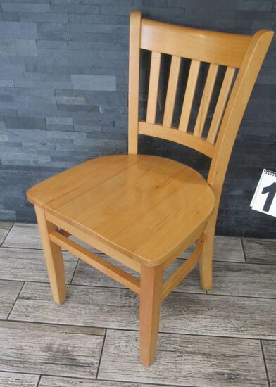 heavy duty all wodd dining chairs