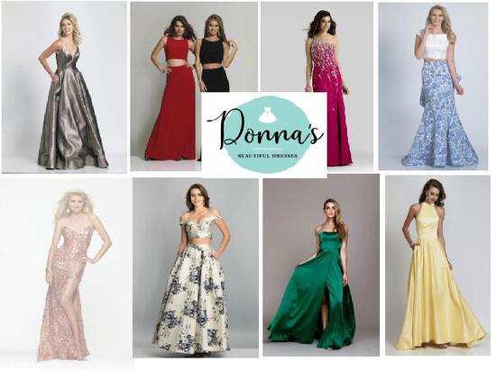 Liquidation of Donnas Beautiful Dress Store