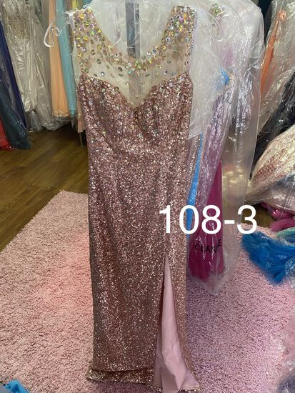 Clarisse formal gown for any occasion. Perfect for prom, pageants, homecoming, & more. Size  0& 2