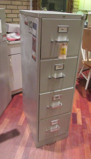 Hon 4 drawer letter size file cabinets like new condition