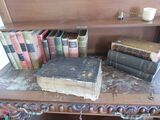 antique bible and books