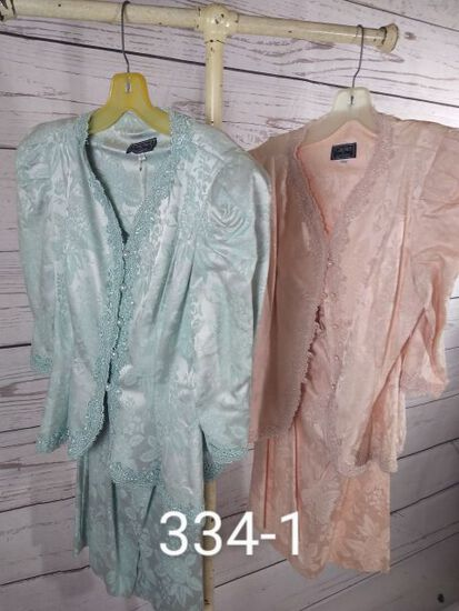Cachet - Two Piece Suits for Ladies. Size 7/8 to 11/12