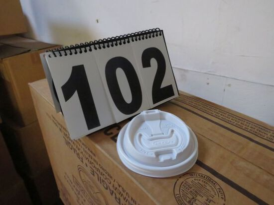 case reclose able lid for 16 oz. cup
