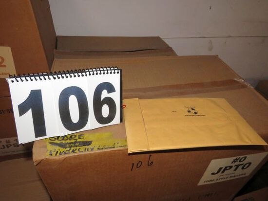 case envelope mailers size 0  250 count