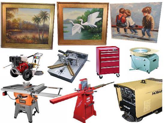 Art Gallery & Frame Shop Liquidation