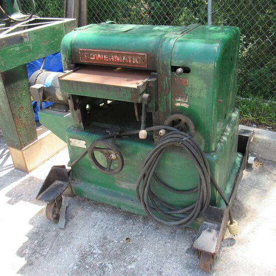 Powermatic commercial planer