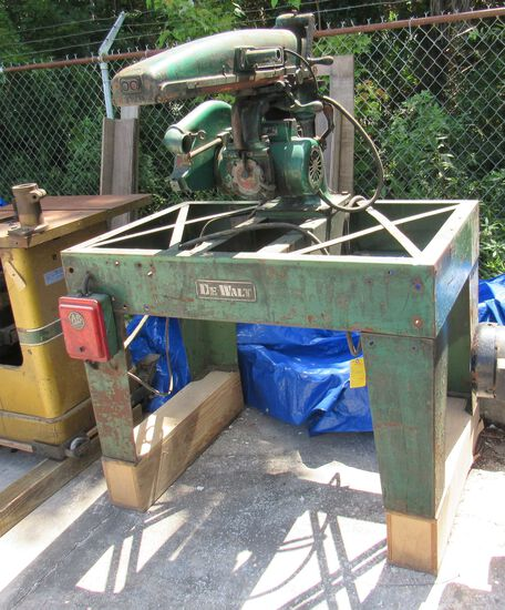 "DeWalt 12"" radial saw"