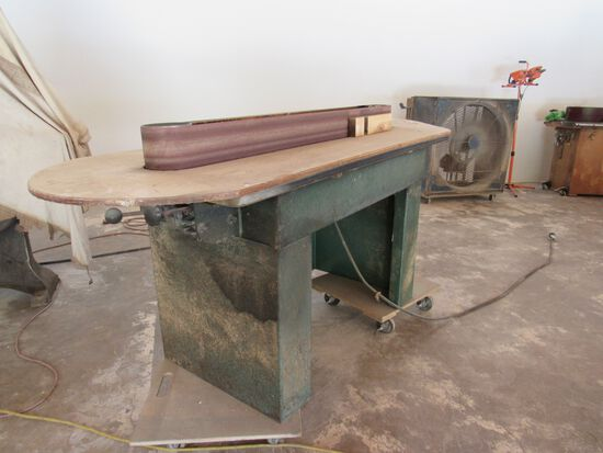 long belt edge sander
