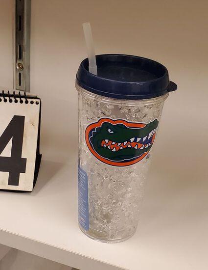 Gator head logo freezer mugs