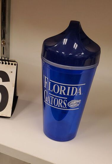 blue Gators travel mugs