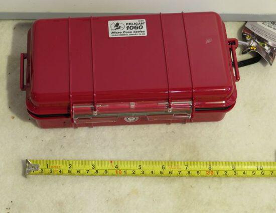Micro Pelican 1060 water resistant dust proof crushproof storage case
