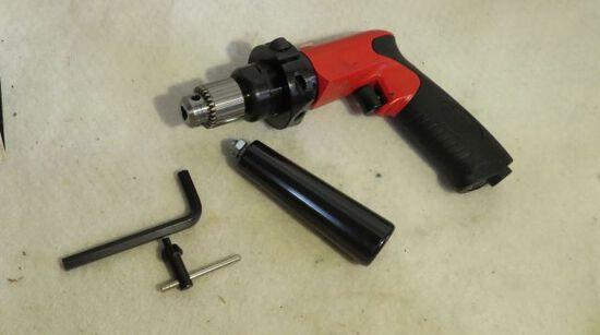 """Sioux pneumatic 1/4"""" chuck drill motor"""
