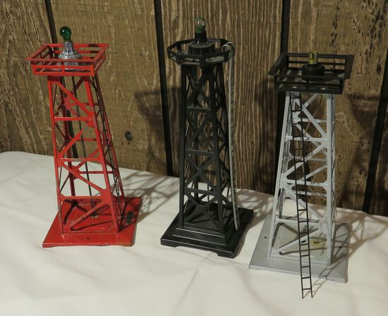 Beacon Towers for model electric trains