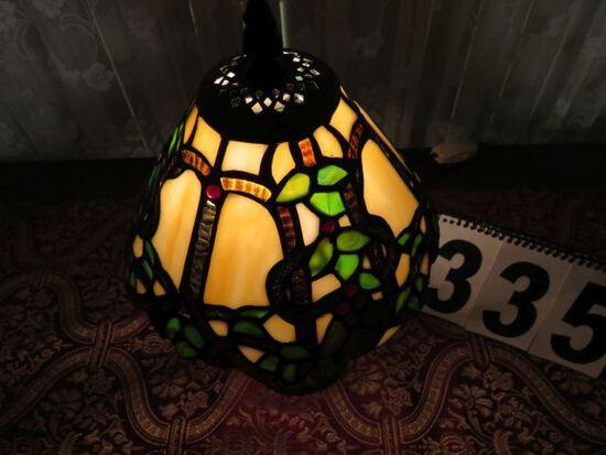 "tiffany style lamp 12"" high"