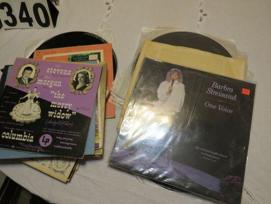 vintage 33 rpm records musical sound tracks