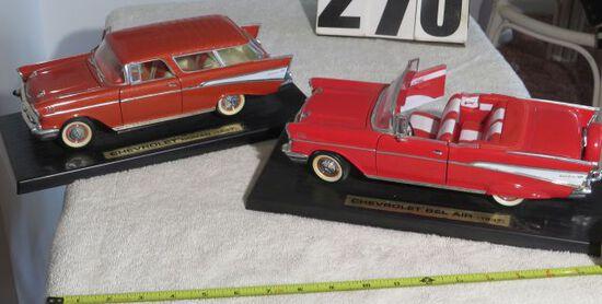 retro decorative display cars