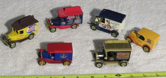 mini toy antique car replicas