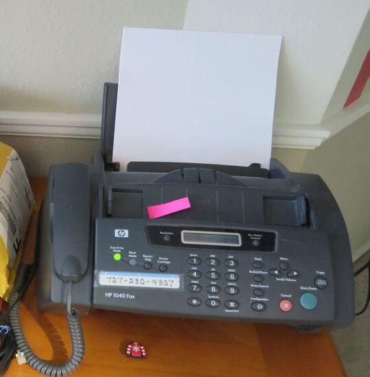 HP model 1040 fax machine