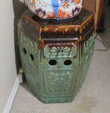 Chinese ceramic drum pedestal