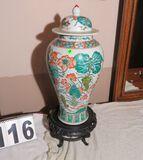 lidded oriental urn