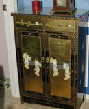 lacquer finished in laid Chinese cabinet