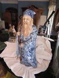 ceramic porcelain figure of bearded man