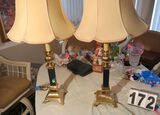 Brass table lamp  35
