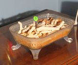 Footed candy dish 6