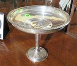 Sterling weighted stemmed nut dish - 7