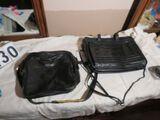 Leather laptop bag & Leather shoulder bag