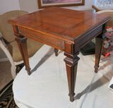 Brandt small walnut finished table - 18
