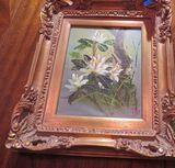 Framed oil on canvas - Floral - 14
