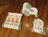 Summer Breeze ceramic pcs  Garden Fountain, Venetian Balcony & The Reading Chair