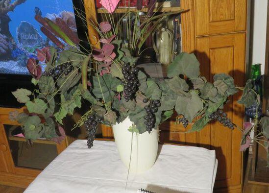 Grape floral arrangement
