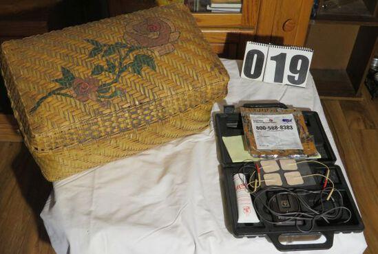Ten 5 machine and vintage basket