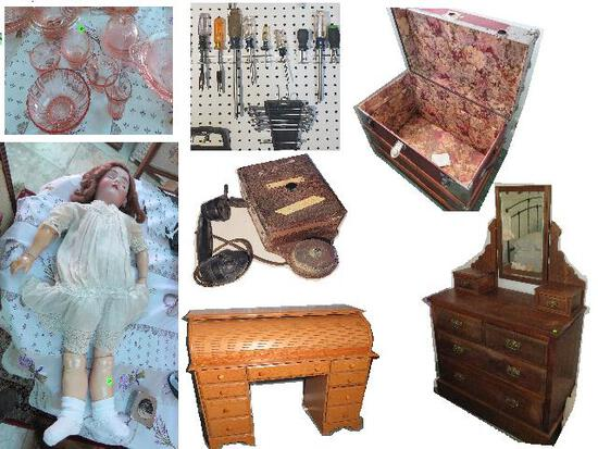 Kelly Estate - Antiques, Collectibles, Furniture