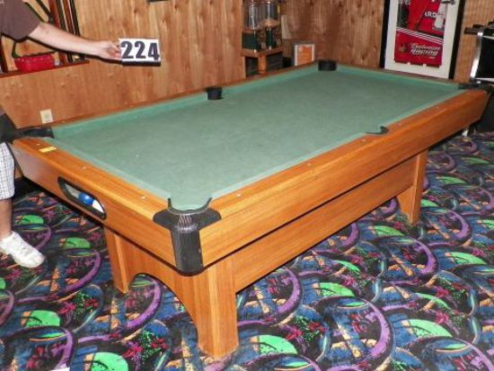 MASSE POOL TABLE WITH RACK AND Auctions Online Proxibid - Masse pool table