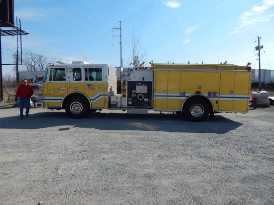 1999 Pierce Saber Fire Truck
