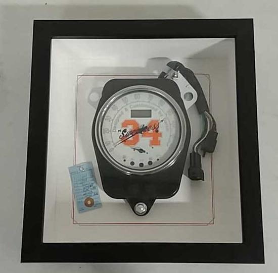 Yamaha Walter Payton speedometer