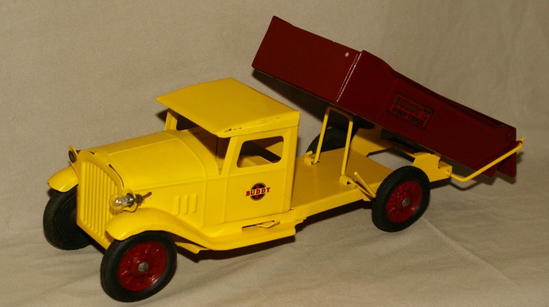 Buddy-L metal dumptruck toy