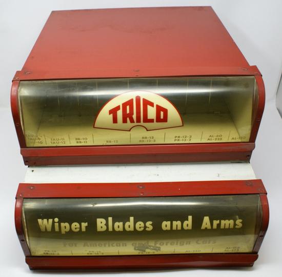 Trico wiper display case