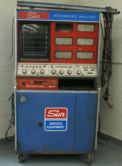 Sun diagnostic machine 1920's-1930's