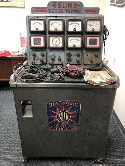 1950's Sun Diagnosic machine