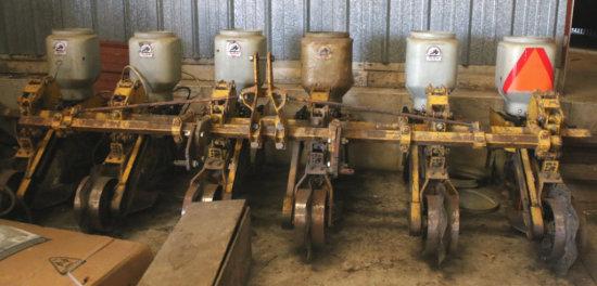 Buffalo 12' six row Corn Planter