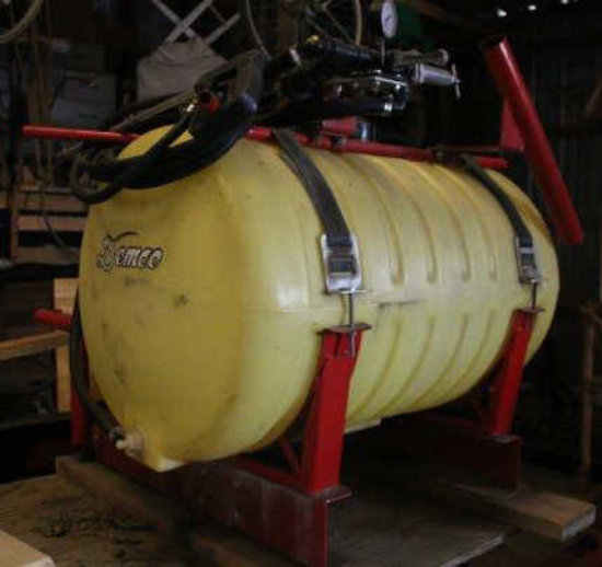 DEMCO ATV sprayer w/ gas engine and pump