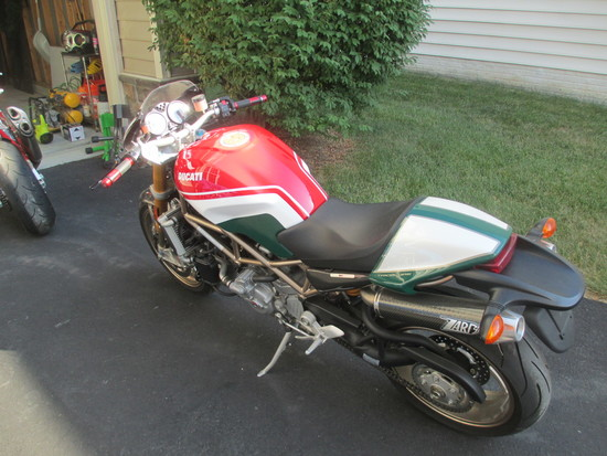 2008 DUCATI S4RS TESTASTREETA TRICOLORE 'MONSTER' NO.2 OF 400 PRODUCED